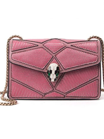 New snake head bag chain simple fashion small square bag shoulder Messenger mini female bag