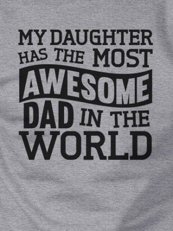 The Most Awesome Dad Unisex Crewneck Sweatshirt