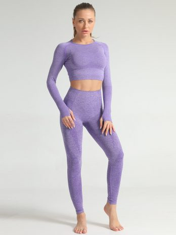 Woman Seamless Yoga Set